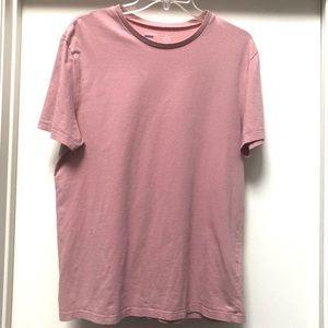 Topman Slim Fit Crewneck Pink T-shirt